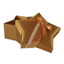 Holiday Star Shaped Small Christmas Gift Box