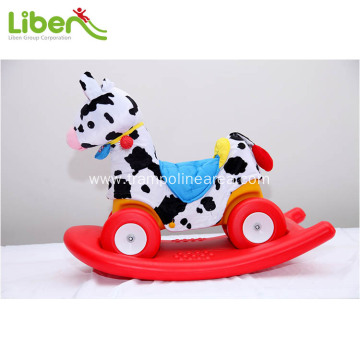 plastic kids rocking horse