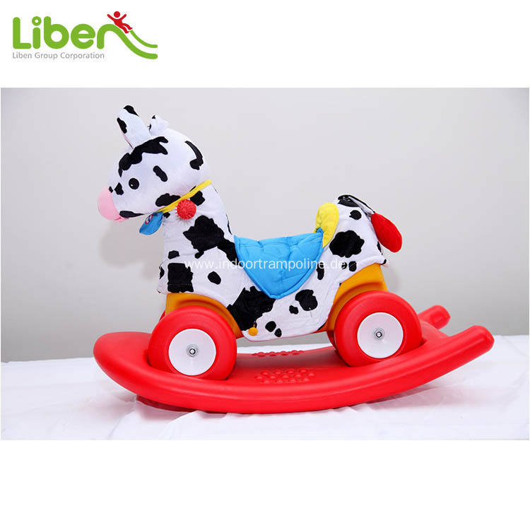 plastic indoor rocking horse