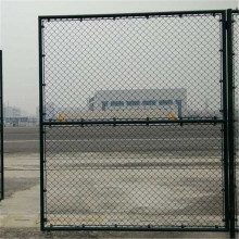 Aluminum Coated Before Weaving Chain Link Fabric Fence