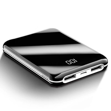 Mini portable 10000mAh cell phone power bank