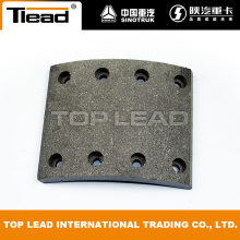 Original Howo Spare Parts Front Brake Lining WG9100440029