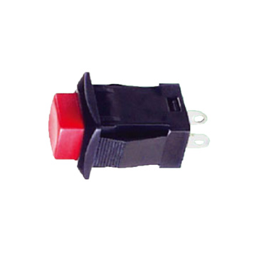 Momentary Silver Plated Automotive Push Button Switches