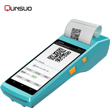 Handheld android 7.0 barcode scanner RFID reader PDA