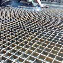 Press Locked Steel Grating Platform