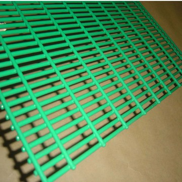 Dark Green PVC Coated Welded Mesh