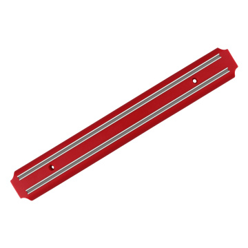 14.6 INCH RED MAGNETIC KNIFE STRIP