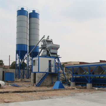 Small concrete plants mixing station process flow cost