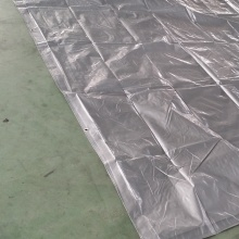 China Cheap price for Virgin Silver PE Tarpaulin Silver PE Tarpaulin Pool Cover supply to Russian Federation Wholesale