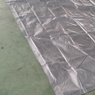 Silver PE Tarpaulin Pool Cover