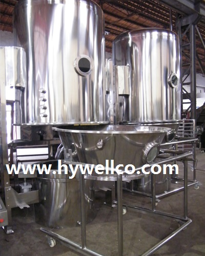 Wet Granule Fluid Bed Drying Machine