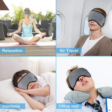 Comfortable Eye Sleep Mask for Sleeping Travel Music