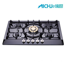 201 negro de acero inoxidable 5 Bunner Gas Cooker
