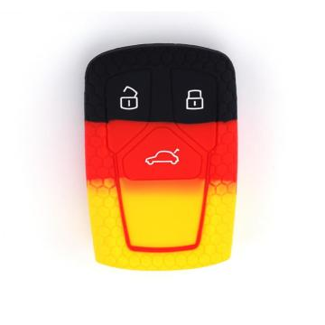 Silicone car key cover for audi A5 A7