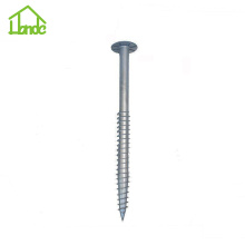 Galvanized Steel Ground Pole Anchor Screw