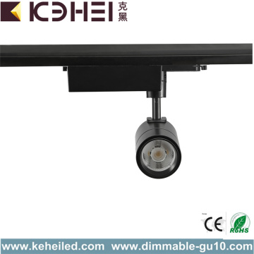 Aluminium 15W LED Track Lights Warm White Black