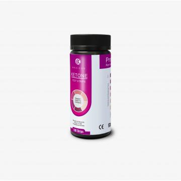 ketone test strips for a standard high-carb diet