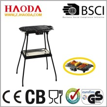 Good Quality for Charcoal Barbecue Grill Electrical Barbecue Grill with Stand supply to Ethiopia Exporter