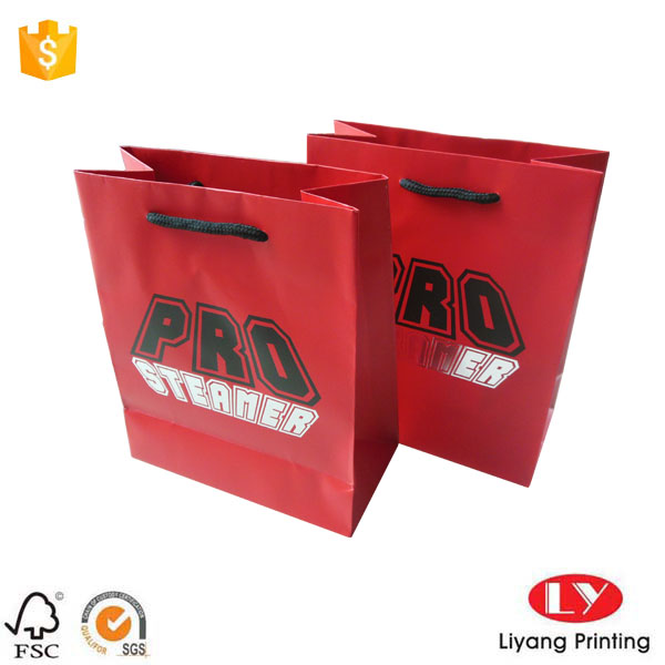 Red jewelry paper bag