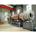 rotary continuous horizontal  carbonizing furnace