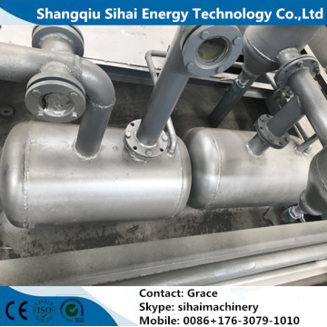 Low Consumption Waste Tire Pyrolysis Oil Plant