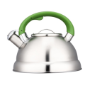 2.5L whistling Teakettle with color painting nylon handles