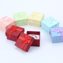 Paper ring boxes gift