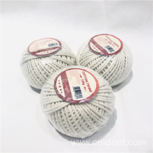 Eco-friendly Natural 3-strand Twisted Cotton Twine