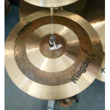 High Quality for Hi-Hat Pulse Cymbal Handmade Instrument Hi-hat Cymbals supply to Sudan Factories