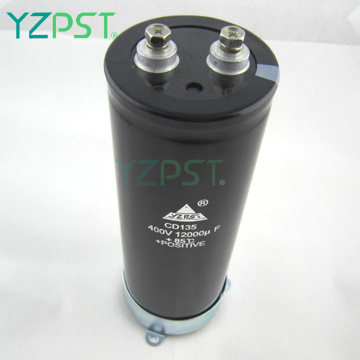 HV aluminum electrolytic capacitors large capacitors