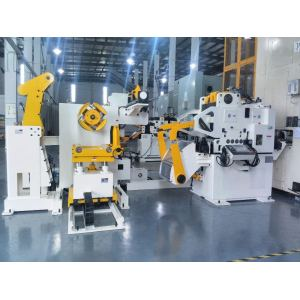 High-strength steel press feeding line