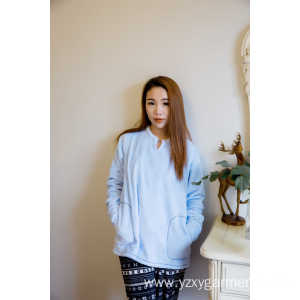 Super Purchasing for Knitted Fabric Production Australia Skyblue flannel pajama top t-shirt export to Tanzania Factories