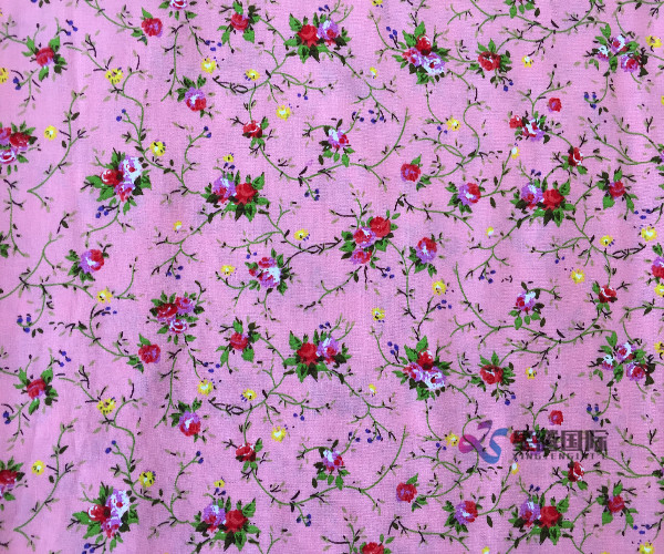 Colourful Rayon Printed Fabric