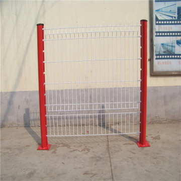 powder coated wire mesh fencing panels and posts