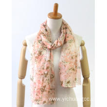 customized thin comfortable yarn dyed ladies scarf
