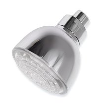 Hotsale bathroom led shower head  with chrome