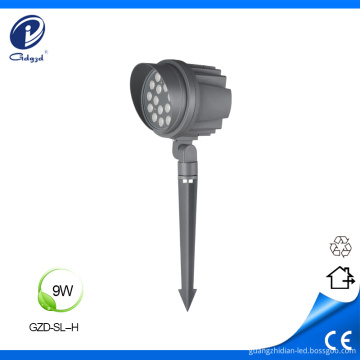 Landscape spike 9W IP65 with cap led spotlights