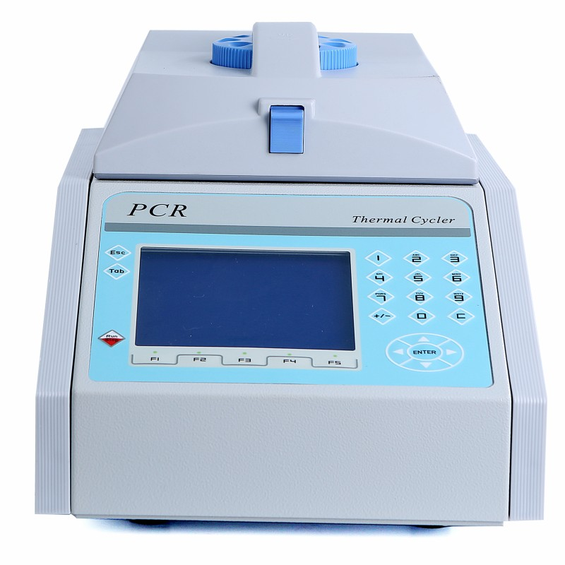 Intelligent PCR thermal cycle testing chamber
