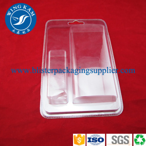 Transparent PVC Clamshell Blister Packaging