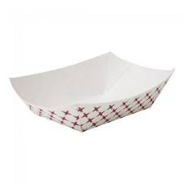 Fast food boat tray paper packaging for chips