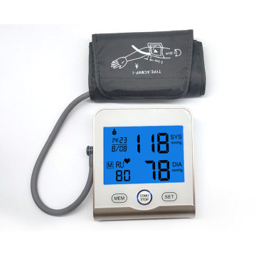 Automatical Doctor OEM LCD Blood Pressure  Monitor