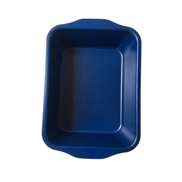Hot Sale for for Offer Non Stick Cake Pan,Cake Pan,Carbon Steel Cake Pan From China Manufacturer Blue Non-stick Coating Turkey Roaster Lasagna Pan export to Italy Wholesale