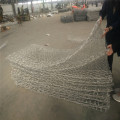 Galvanized steel wire welded gabion baskets