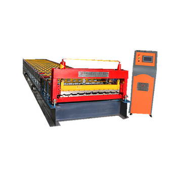 single roller trapezoidal roll forming machine