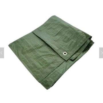 Olive color waterproof tarpaulin