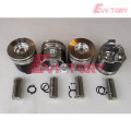 YANMAR engine piston 4TNV98  piston ring