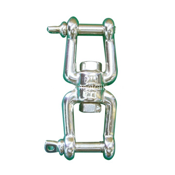 Swivel Shackle With Double End Jaw