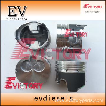 ISUZU engine parts piston 4LE1 piston ring