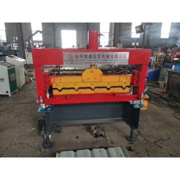 hydraulic electric roof panel curving machine