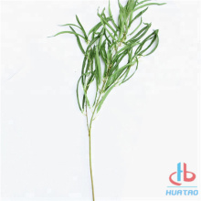 Artificial Green Sweet Grass Leaves